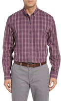 Cutter & Buck Men's Garden Plaid Wrinkle Free Sport Shirt