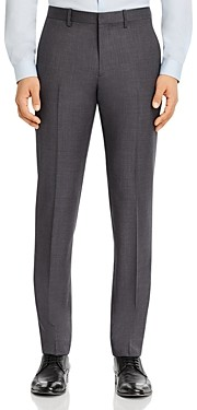 Theory Mayer Micro-Houndstooth Slim Fit Suit Pants