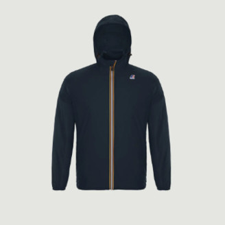 K-Way K Way Navy Blue Polyester Claude Windbreaker Jacket - xs | polyester | navy blue - Navy blue