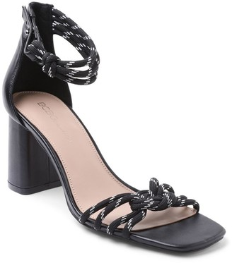 BCBGeneration Ankle Strap High Heel Sandals - Telila
