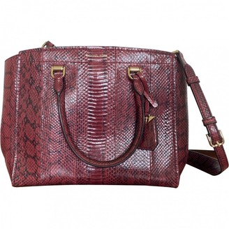 Michael Kors Red Water snake Handbags