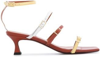 MANU Atelier Multi-Strap Heeled Sandals