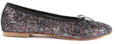 Anniel Elasticated Sequin Ballerinas