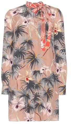 Valentino mytheresa.com online exclusive printed silk dress