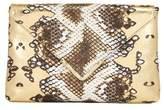 Elaine Turner Designs Bella Leather Clutch.