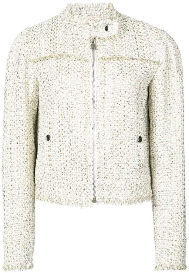 Giambattista Valli cropped tweed jacket