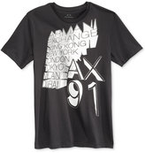 Armani Exchange Men's World Cities Graphic-Print T-Shirt