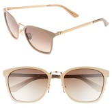 Calvin Klein Women's 54Mm Square Sunglasses - Bone