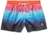 Missoni Mare Mid-Length Jacquard-Shell Swim Shorts