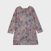 Paul Smith Girls' 7+ Years Floral Cotton 'Macey' Dress
