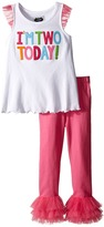 Mud Pie I Am Two Tunic and Leggings Set (Toddler)