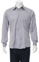 Bottega Veneta Long Sleeve Button-Up Shirt