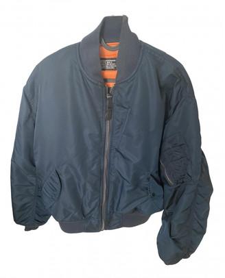 Schott Blue Synthetic Jackets