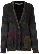 Raquel Allegra striped cardigan - women - Nylon/Alpaca/Virgin Wool - 0
