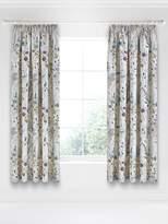 V&A Blythe Meadow Teal 66X72 Curtains