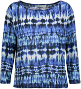 Kain Label Amelia tie-dyed stretch-modal top