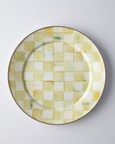 Mackenzie Childs MacKenzie-Childs Parchment Check Dinner Plate
