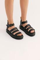 Dr. Martens Vegan Blaire Flatform Sandals at Free People