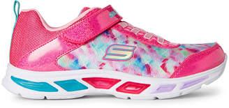 Skechers Toddler Girls) Litebeams Light-Up Running Sneakers