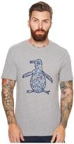 Original Penguin Painterly Print Fill Pete Tee Men's T Shirt