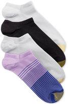 Gold Toe Women's 4-Pk. Micro Stripe No-Show Socks