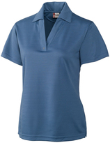 Clique Indigo Sonoma Textured Performance Polo - Plus Too
