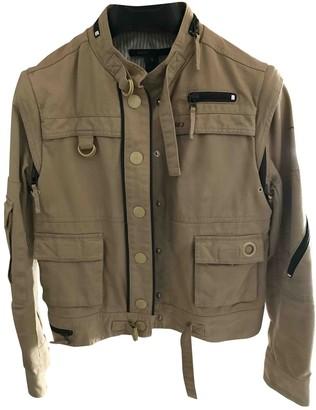 Marc Jacobs Camel Denim - Jeans Leather Jacket for Women