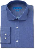 Vince Camuto Slim-Fit Denim Solid Dress Shirt
