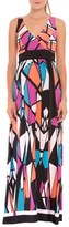 Olian Women's 'Alexus' Print Maternity Maxi Dress