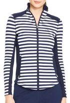 Lauren Ralph Lauren Striped Track Jacket