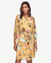 Ann Taylor Petite Marigold Shirtdress