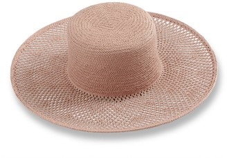 Woven Straw Boater