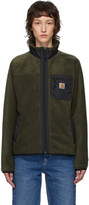 Carhartt Work In Progress Green Prentis Liner Jacket