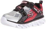 Skechers Boys Hypno Flash Z Strap Sneaker