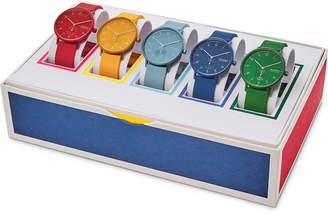 Skagen Unisex Aaren Kulor Multicolor Silicone Strap Watch 41mm Box Set