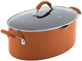 Rachael Ray 8QT. Cucina Non-Stick Covered Oval Pasta Pot