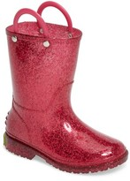 Western Chief Girl's Glitter Rain Boot