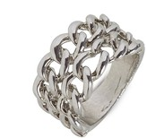 BaubleBar Silver Chain Ring