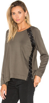 Generation Love Darcey Lace Up Sweater