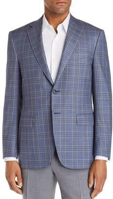 Canali Siena Plaid Classic Fit Sport Coat