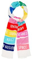 Kate Spade Abstract Print Scarf