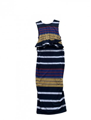 KENDALL + KYLIE Blue Cotton Dress for Women
