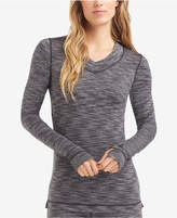 Cuddl Duds Flex Fit Long Sleeve V-neck