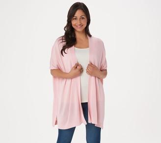 Martha Stewart Open Front Short-Sleeve Cardigan Sweater