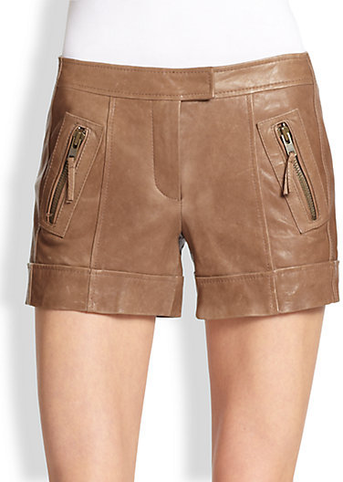 Rachel Zoe Jax Leather Shorts