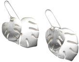 Tabitta Silver Leaf Earrings