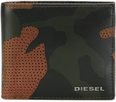 Diesel Camouflage cardholder - men - Calf Leather - One Size
