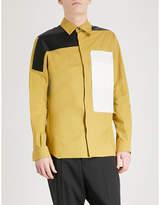 Rick Owens Combo Work Slim-fit Cotton Shirt
