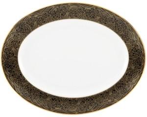 Marchesa by Lenox Dinnerware, Mandarin Oval Platter