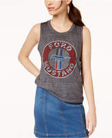 Mighty Fine Juniors' Ford Mustang Graphic Tank Top